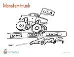 printable-coloring-page-monster-truck-UpliftingPlay