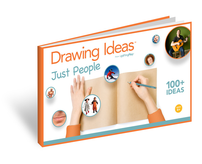 Drawing Ideas : Just People eBook