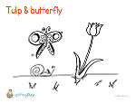 printable-coloring-page-tulip-butterfly-UpliftingPlay
